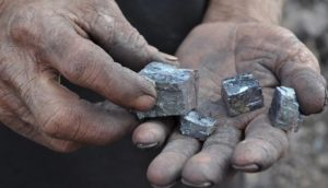 minereu argint